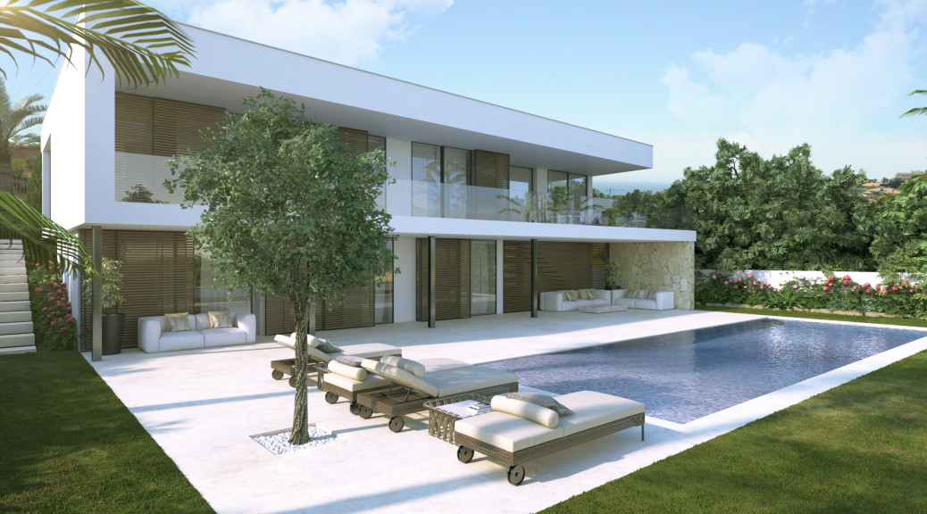 Skandiam klarna select villa ace for Villa de luxe contemporaine
